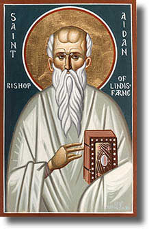 Icon of Aidan