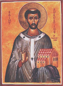 Icon of Augustine of Canterbury