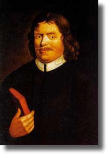 Painting of John Bunyan