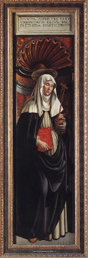 Painting of Catherian of Sienna