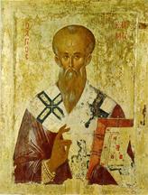 Icon of Clement of Alexandira