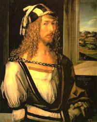 Self-portrait of Albrecht Duerer