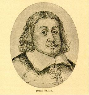 Drawing of John Eliot