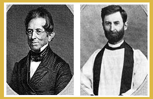 Photographs of Thomas Gallaudet and Henry Winter Syle