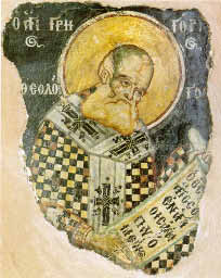Painting of Gregory the Illuminator.