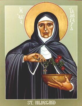 Icon of Hildegard of Bingen