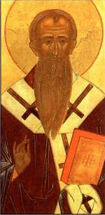 Icon of Irenaeus.