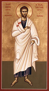 Icon of Justin Martyr