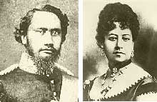 King Kamehameha IV and Queen Emma