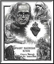 Drawing of Maximilian Kolbe