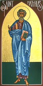 Icon of Matthias.