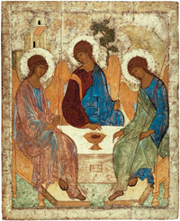 Icon of the Trinity by Andrei Rublev
