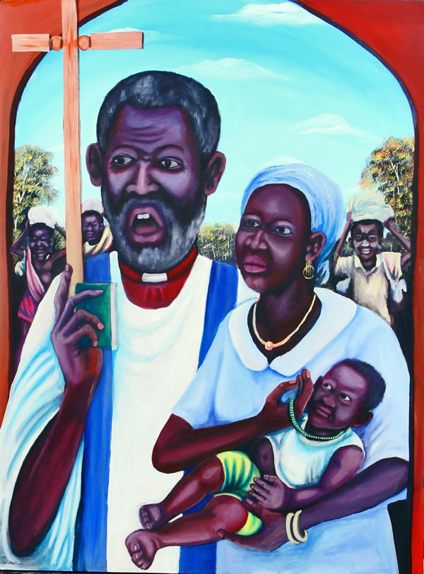Icon of the Martyrs of the Sudan